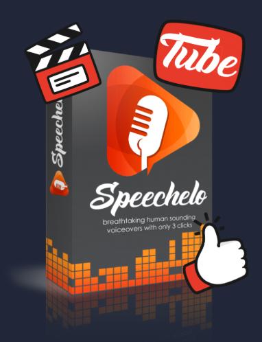Speechelo Tube Upgrade
