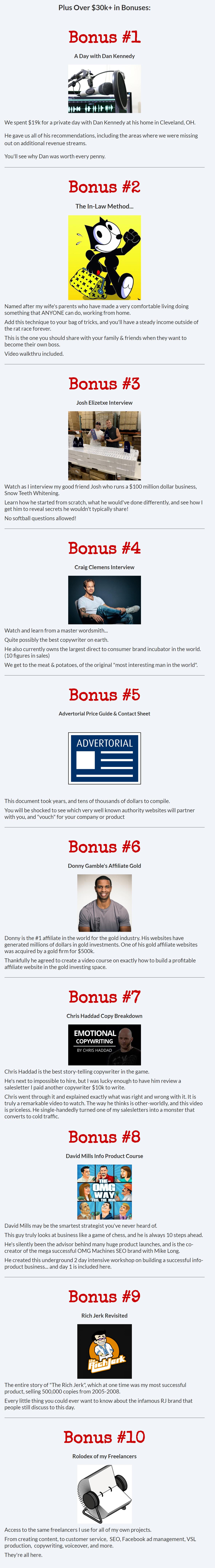 Underestimated Bonuses