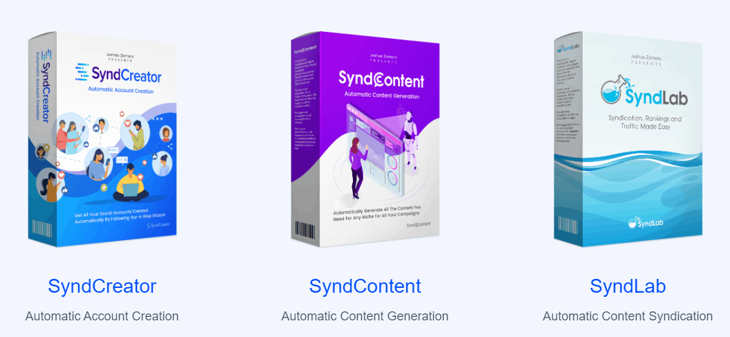 SyndTrio Review - SyndContent SyndCreator SyndLab